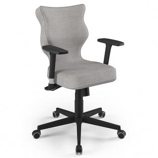 Entelo Good Chair Bürostuhl Nero DC18 Ergonomisch Grau und Schwarz