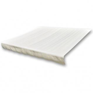 vidaXL Markisenbespannung Canvas Creme 4 x 3 m (ohne Rahmen)