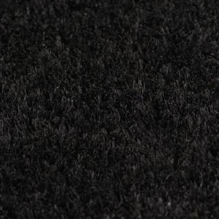 vidaXL Fußmatte Kokosfaser 17 mm 100 x 200 cm Schwarz - Vorschau 2