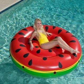 Bestway Badeinsel Luftmatratze Wassermelone Rot 43140