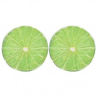vidaXL Kissen 2 Stk. Fruchtoptik Limette - Vorschau 1