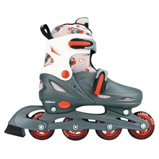Nijdam Junior Inline Skates 27-30 grau/rot/weiß 52QM - Vorschau 2