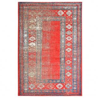 vidaXL Teppich Rot 140 x 200 cm PP