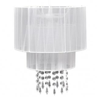 Kronleuchter Pendelleuchte Hängelampe Leuchte weiß - Vorschau 2