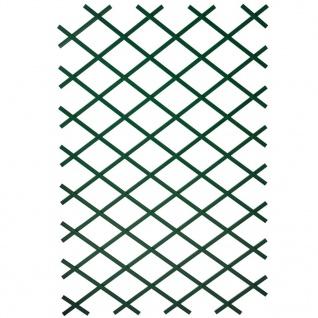 Nature Garten-Rankgitter 100x200 cm PVC Grün 6040704