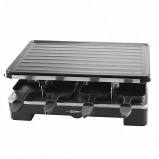Emerio Raclette-Grill mit 8 Pfännchen 1400 W Schwarz RG-110282
