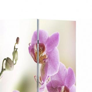 Foto-Paravent Paravent Raumteiler Blumen 120 x 180 cm - Vorschau 3