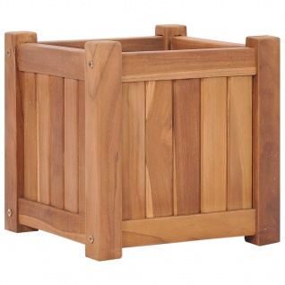 vidaXL Hochbeet 30x30x30 cm Massivholz Teak