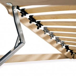 vidaXL Lattenrost mit 28 Latten 7 Zonen 120 x 200 cm - Vorschau 5