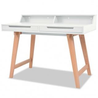 Schreibtisch 110 cm online bestellen bei yatego for Buchenholz schreibtisch