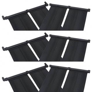 vidaXL Solar-Panel für Poolheizung 6 Stk. 80x310 cm