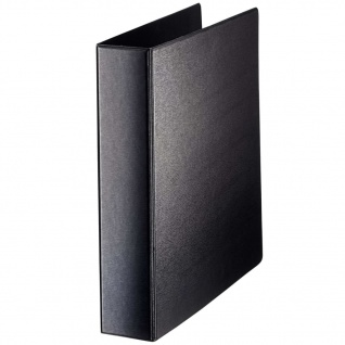 Leitz Ringbuch 4DR Schwarz 40 mm PP