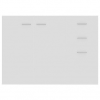 vidaXL Sideboard Hochglanz-Weiß 105 x 30 x 75 cm Spanplatte - Vorschau 5