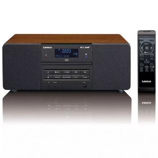 Lenco DAB+/FM Radio mit CD/MP3 Player DAR-050 Holz