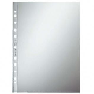 Leitz Klarsichthüllen 100 Stk. Glasklar A4 11 Löcher