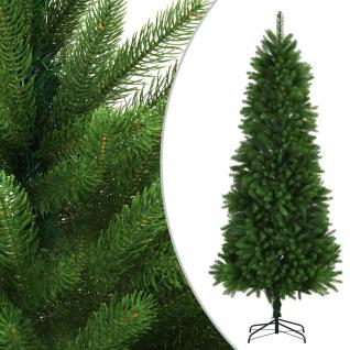 vidaXL Künstlicher Weihnachtsbaum Naturgetreue Nadeln 240 cm Grün