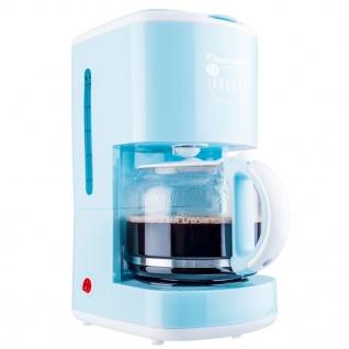 Bestron Kaffeemaschine 1080 W Blau ACM300EVB