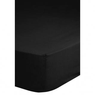 Emotion Bügelfreies Spannbettlaken 140x200 cm Schwarz 0220.04.44