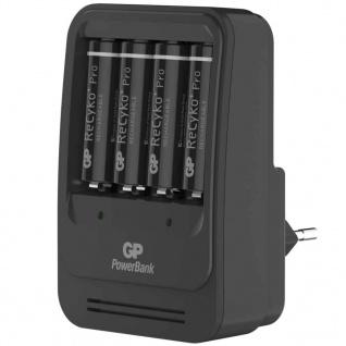 GP Akku-Ladegerät PB570 mit 4 Batterien 135570GS210AAHCBC4