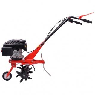 vidaXL Benzin Gartenfräse 5 PS 2, 8 kW Rot - Vorschau 2