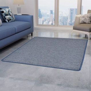 vidaXL Teppich Getuftet 120 x 180 cm Blau