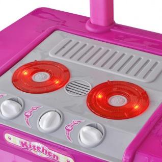 Kinderküche Spielküche mit Licht- und Soundeffekten Rosa - Vorschau 4