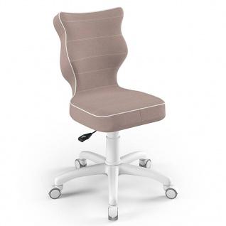 Entelo Good Chair Kinder-Bürostuhl Petit JS08 Ergonomisch Gr.4 Rosa