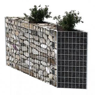 vidaXL Gabionenkorb Pflanzkasten Gemüse-Hochbeet Stahl 120×30×100 cm - Vorschau 3