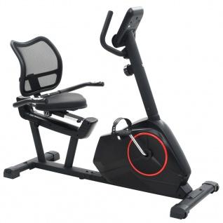 vidaXL Magnetisches Sitz-Ergometer mit Pulsmessung - Vorschau 1