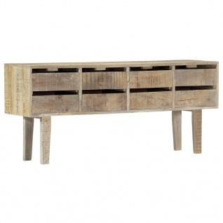 vidaXL Sideboard 140×30×60 cm Massivholz Mango