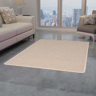 vidaXL Teppich Getuftet 80 x 150 cm Beige - Vorschau 1