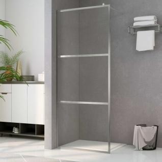 vidaXL Duschwand für Begehbare Dusche mit Klarem ESG-Glas 140x195 cm