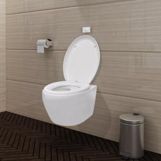 Wand-Hänge WC/Toilette Klo Wandhängend Weiß