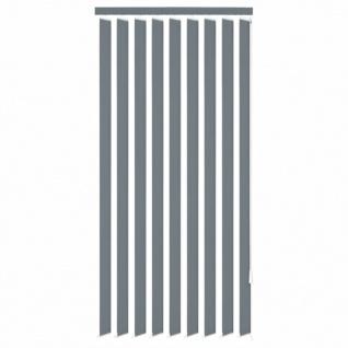 vidaXL Vertikale Jalousien Grau Stoff 120x180 cm