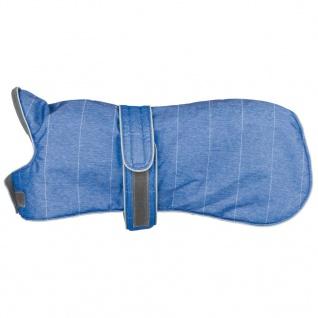 TRIXIE Wintermantel für Hunde Belfort Größe XS 25 cm Blau 67860