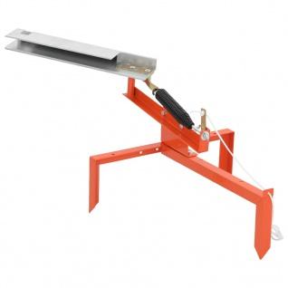 vidaXL Tontauben-Auswerfer Stahl
