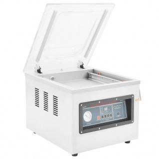 vidaXL Professionelle Vakuumverpackungsmaschine Tisch 750 W Edelstahl