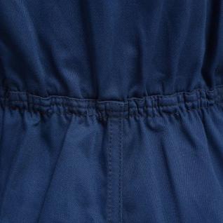 vidaXL Kinder Arbeitsoverall Größe 98/104 Blau - Vorschau 2