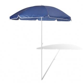 180cm Sonnenschirm Strandschirm Schirm blau