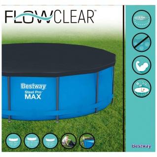 Bestway Abdeckplane für Frame-Pool Sirocco Rund 366 cm