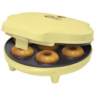 Bestron Donut Maker Vanille 700 W ADM218SD
