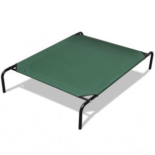 Haustierbett mit Stahlrahmen 110 x 80 cm