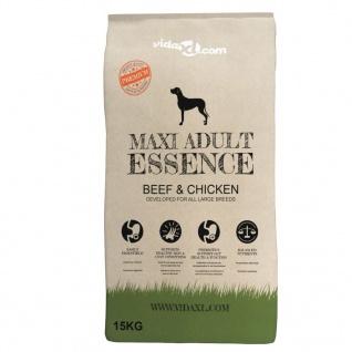 vidaXL Premium-Trockenhundefutter Maxi Adult Essence Beef & Chicken 2 x 15 Kg - Vorschau 5