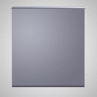 Verdunkelungsrollo 140 x 175 cm grau