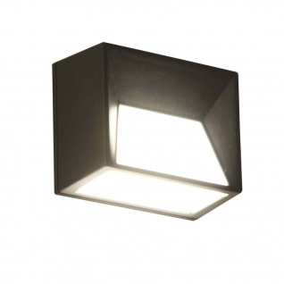 Luxform Intelligente Solar LED Garten-Wandleuchte Skye 15 lm