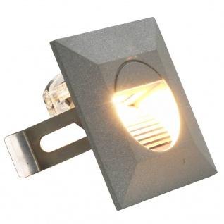 vidaXL Außenwandleuchten 6 Stk. LED 5 W Silbern Quadratisch - Vorschau 2