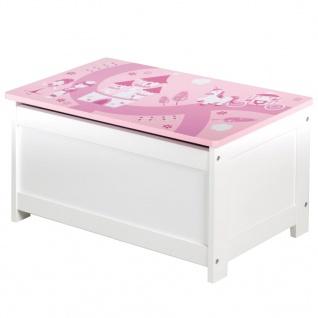 roba Spielzeugkiste Crown Rosa 60x32x30 cm MDF