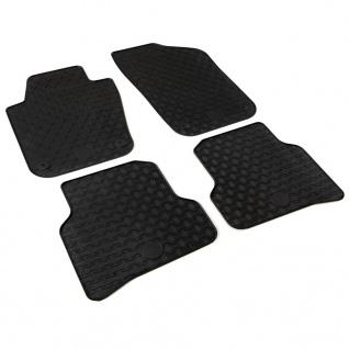 vidaXL Gummi-Fußmatten-Set 4-tlg. für VW Polo Ibiza - Vorschau 3