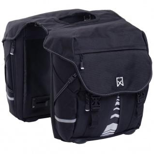 Willex Fahrradtaschen 1200 28 L Schwarz 13311