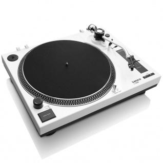 Lenco USB-Plattenspieler L-3808 Weiß